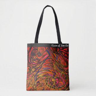 Bolsa Tote Visão de FOMI da sacola das belas artes
