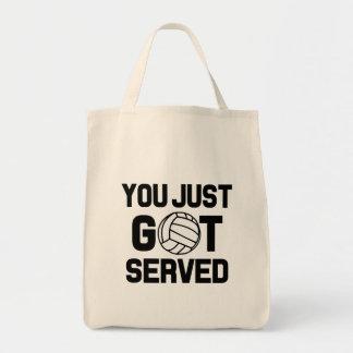 Bolsa Tote Você apenas obteve o saco engraçado servido do