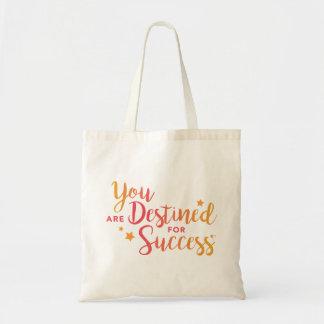Bolsa Tote Você é destinado para a sacola do sucesso