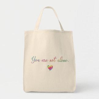 Bolsa Tote Você não está sozinho