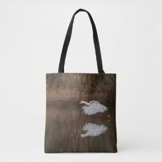 Bolsa Tote Vôo do Egret nevado