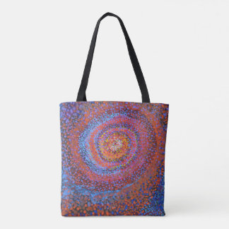 Bolsa Tote Vortex espiral - Totebag abstrato