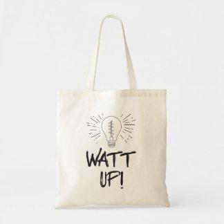 Bolsa Tote Watt acima! Humor da ciência