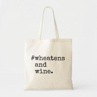 Bolsa Tote Wheatens e vinho
