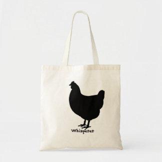 Bolsa Tote Whisperer da galinha