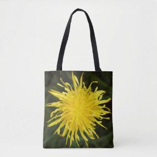 Bolsa Tote Wildflower amarelo do dente-de-leão