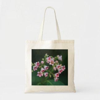 Bolsa Tote Wildflowers cor-de-rosa minúsculos