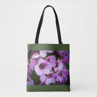 Bolsa Tote Wildflowers roxos