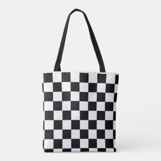 Bolsa Tote xadrez