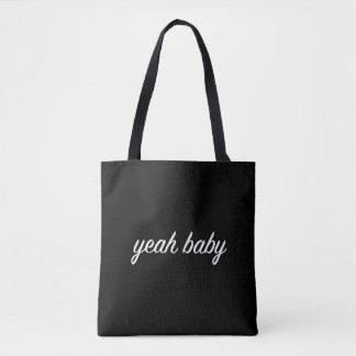 Bolsa Tote yeah tumblr do grunge da sacola do bebê estético