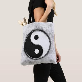 Bolsa Tote Yin Yang - Black & White