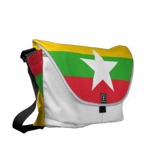 Bolsas Mensageiro Bandeira de Burma