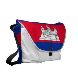 Bolsas Mensageiro Bandeira de Cambodia