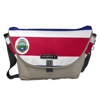 Bolsas Mensageiro Bandeira de Rican da costela