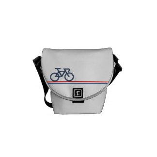 Bolsas Mensageiro Bicicleta com linhas de bandeira Países