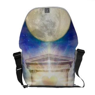 Bolsas Mensageiro Coração do templo da lua V058