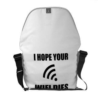 Bolsas Mensageiro Espere seus dados de Wifi