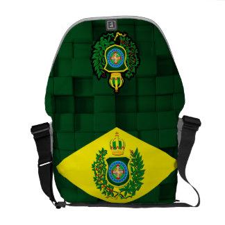 Bolsas Mensageiro Mochila Carteira com Bandeira Imperial.