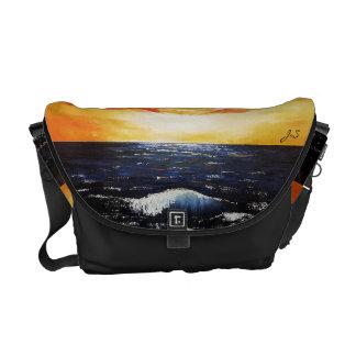 Bolsas Mensageiro Por do sol médio do saco - mercadoria de Jenny