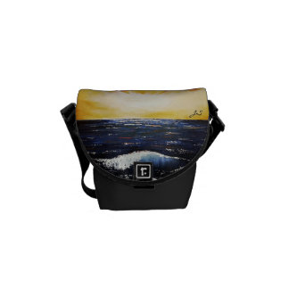 Bolsas Mensageiro Por do sol pequeno do saco - Jenny Simon