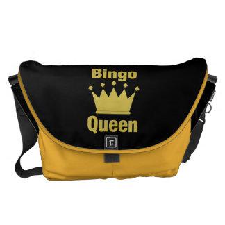 Bolsas Mensageiro Rainha do Bingo