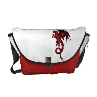 Bolsas Mensageiro Vermelho do dragão