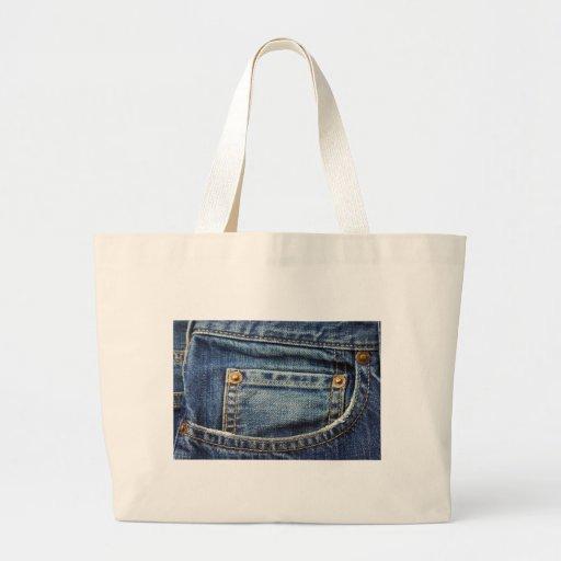 Bolso de calças de ganga bolsa para compra