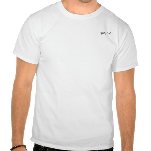 bolso obtido dos pinos camisetas