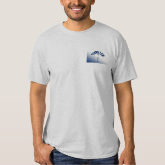 Bolso T do leitor do filme policial Camiseta