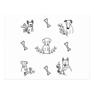 Bom cartão do cão