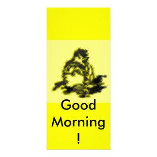 Bom dia! 10.16 x 22.86cm panfleto