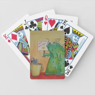 Bom dia! cartas de baralho