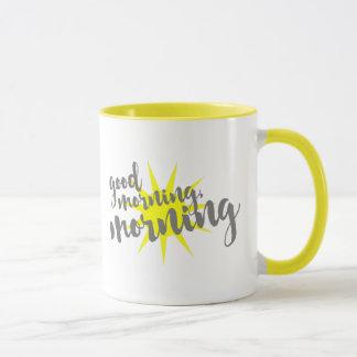 Bom dia, manhã caneca