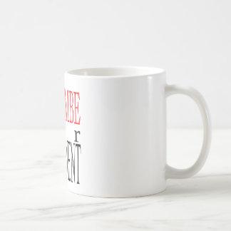 bom gori do guardião do voto do presidente da caneca de café