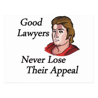 Bom homem dos advogados cartão postal