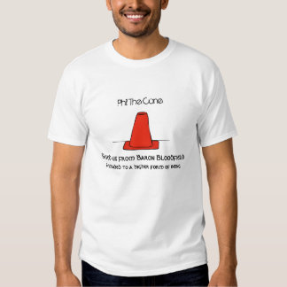 Bom rapaz Phil o cone T-shirts