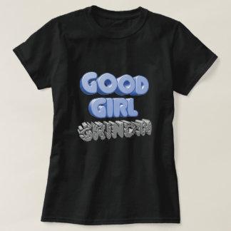 Bom t-shirt de Grindin 3D da menina