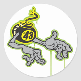 Bomba 43 de H Adesivo