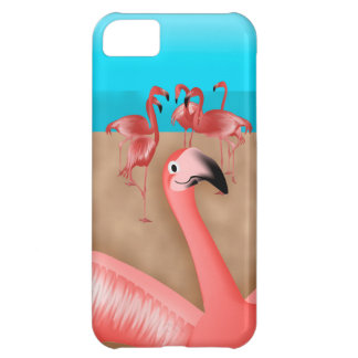 Bomba de foto do flamingo capa para iPhone 5C