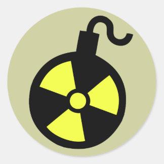 Bomba nuclear adesivo