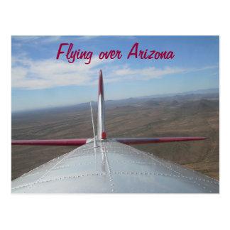 Bombardeiro B-17 sobre o cartão de Phoenix AZ