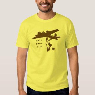 Bombardeiro da banda de Brown Camisetas