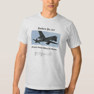 Bombardeiro de jato Ju-287 T-shirt