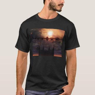 bombardeiro de lancaster sobre a camisa da camiseta