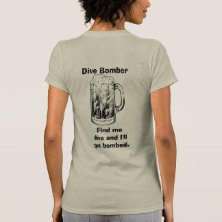 Bombardeiro de mergulho - t-shirt
