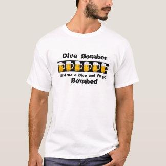 Bombardeiro de mergulho tshirts