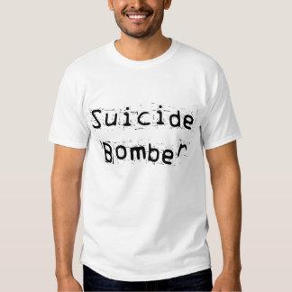 Bombardeiro de suicídio tshirts