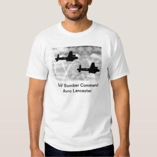 Bombardeiro de WW2 Avro Lancaster Tshirts