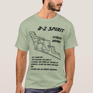 Bombardeiro do discrição do espírito B-2 Camiseta