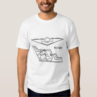 Bombardeiro do discrição do espírito B-2 Camisetas